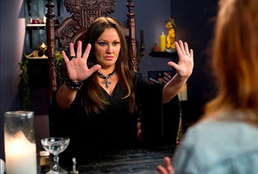 a brief look about her variety psychic show